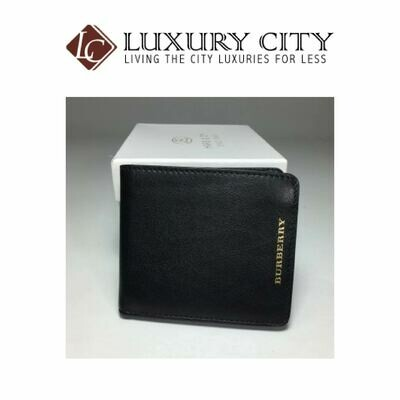 [Luxury City] Burberry Classic Portfolio Wallet In Black