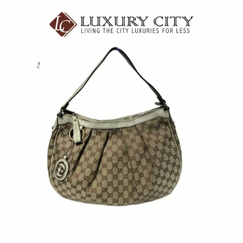 [Luxury City] Preloved Authentic Classic Gucci Handbag