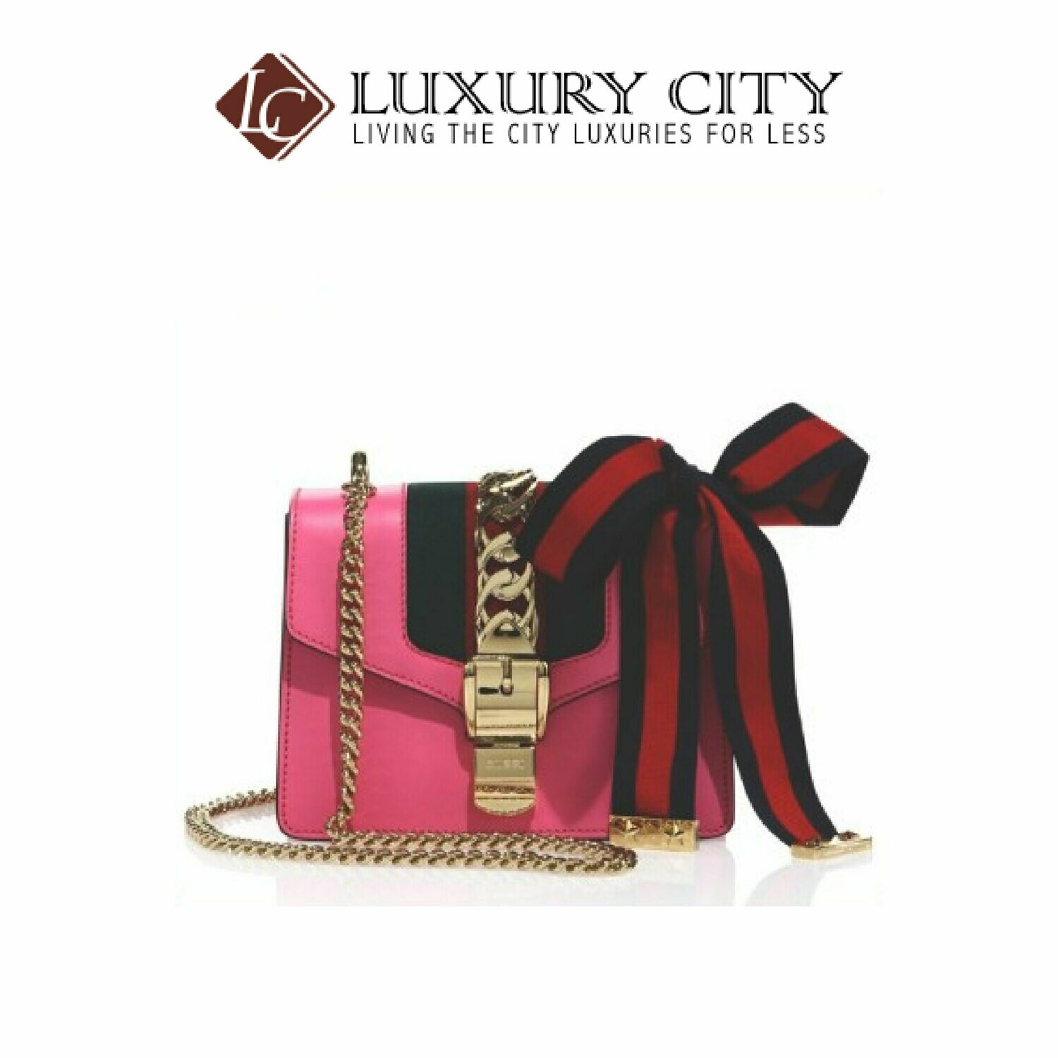 [Luxury City] Preloved Authentic Gucci Sylvie Small Pink Slingbag
