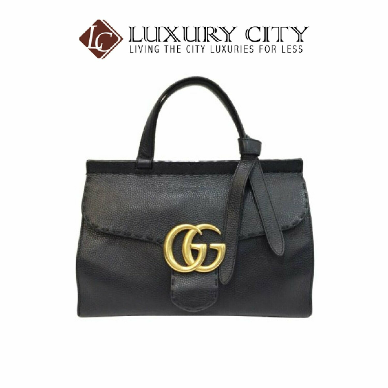 [Luxury City] Preloved Authentic Gucci GG Marmont Handbag