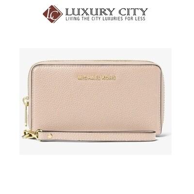 [Luxury City] Michael Kors Mercer Leather Phone Wrislet MK-32F6GM9E3L187