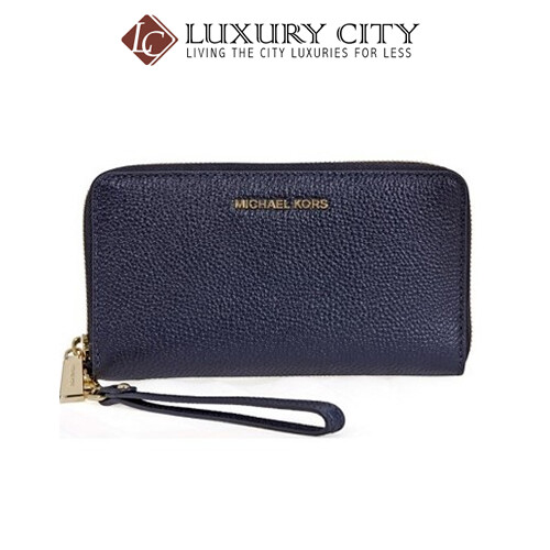 [Luxury City] Michael Kors Mercer Leather Phone Wrislet MK-32F6GM9E3L414