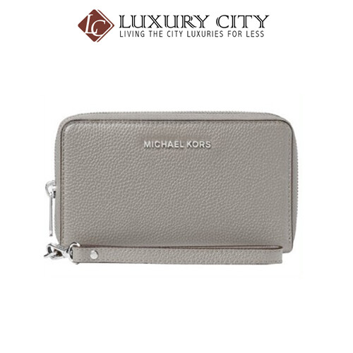 [Luxury City] Michael Kors Mercer Smartphone Wristlet MK-32F6SM9E3L081
