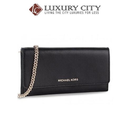 [Luxury City] Micheal Kors Torebka Crossbody Wallet Bag Black MK-32T9GF5C3L