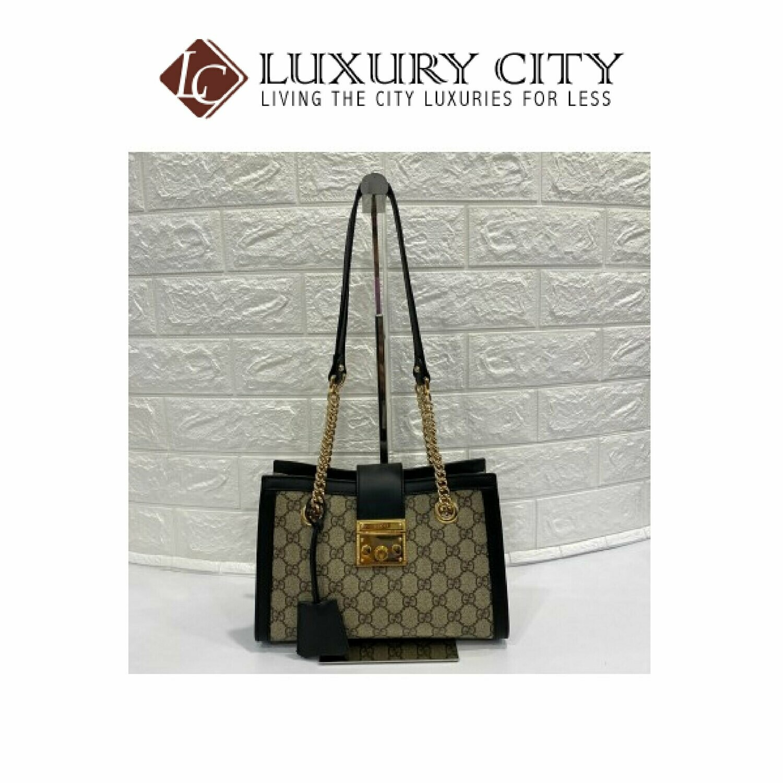 [Luxury City] Preloved Gucci Padlock Handbag