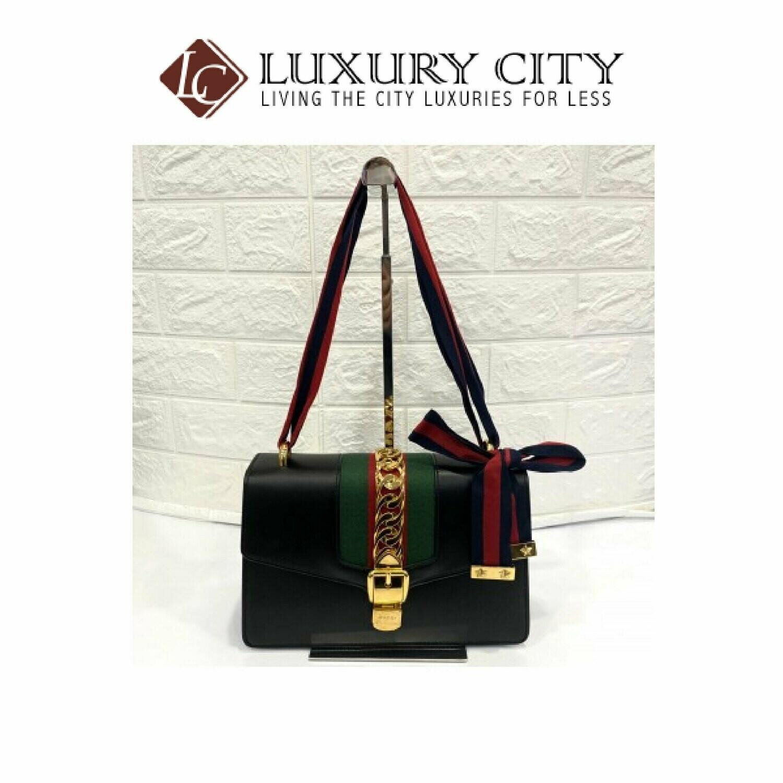 [Luxury City] Preloved Gucci Sylvie Medium Size