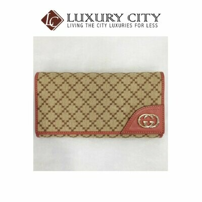 [Luxury City] Preloved Gucci Long Wallet