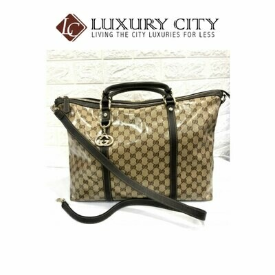 [Luxury City] Used Gucci GG 2 Ways Carry Bag