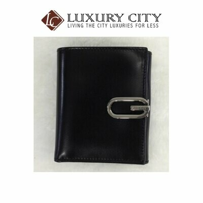 Gucci Bifold Double Sided Box Leather Short Wallet