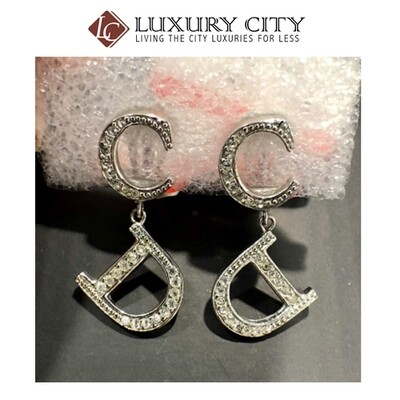[Luxury City] Preloved Used Dior earring