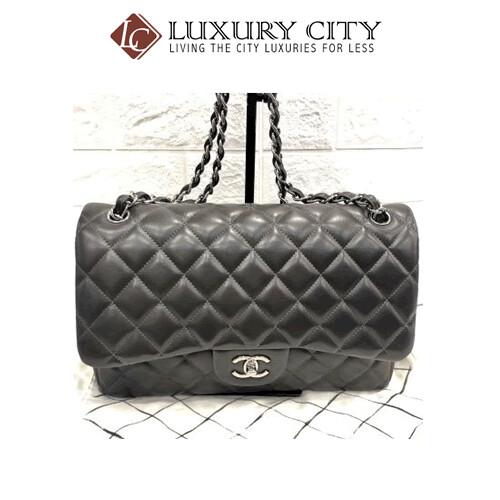 [Luxury City] Preloved Kept Never use Chanel Classic Double Flap Lambskin Handbag