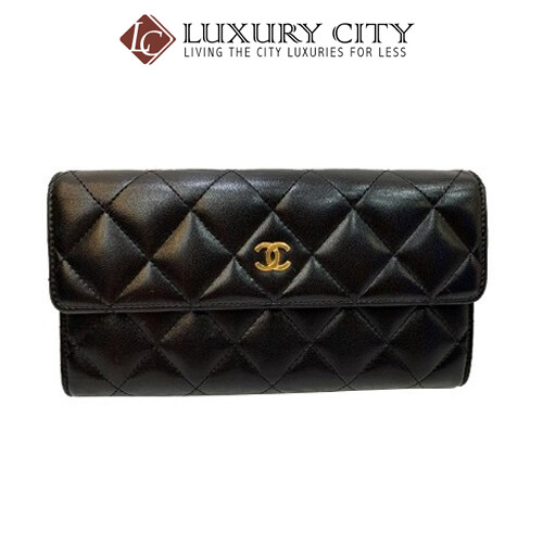 [Luxury City] Preloved Authentic Chanel Quilted Wallet
