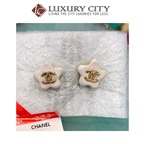 [Luxury City] Preloved Used Chanel Earring