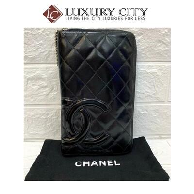 [Luxury City] Preloved Vintage Chanel Zip around long wallet