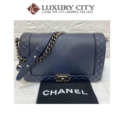 [Luxury City] Preloved Chanel Leboy Medium Size