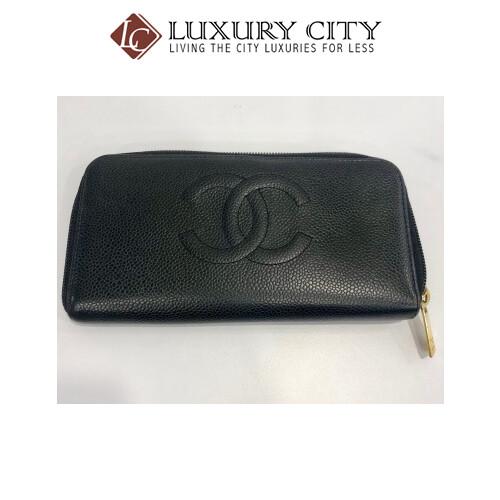 [Luxury City] Preloved Vintage Chanel Long Wallet