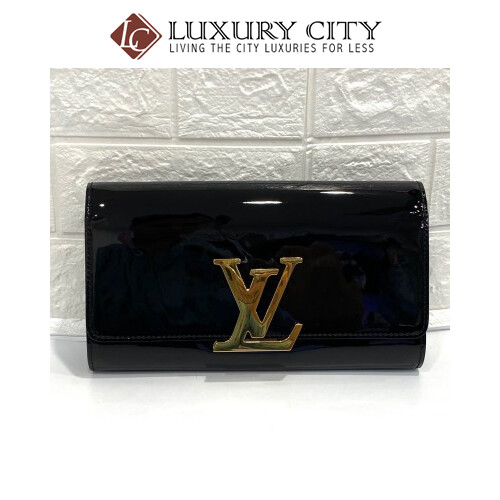 Preloved Louis Vuitton Patent Leather Clutch