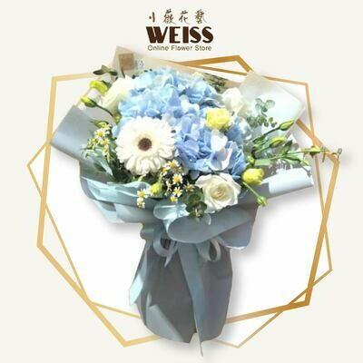 Weiss Florist mixed flower bouquet (Free Shipping! Only deliver in JB)