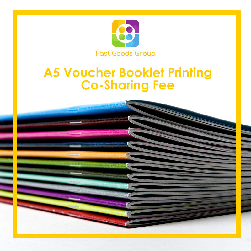 Fast Goods Group A5 Voucher Booklet Marketing Co-Sharing RM100 Printing Fee