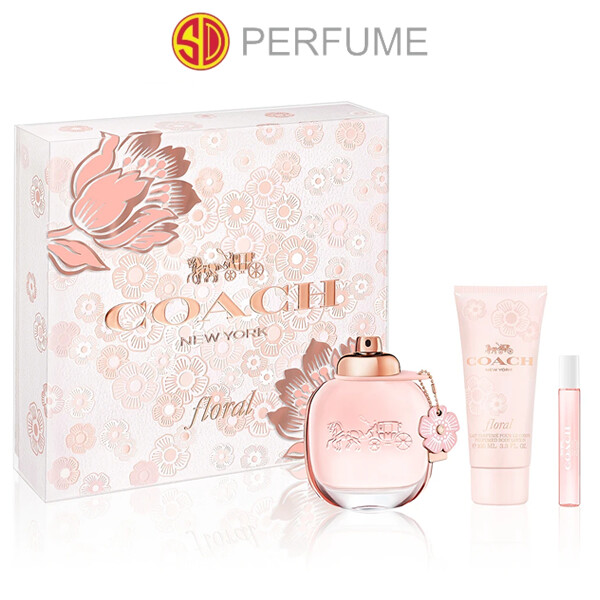 Coach Floral EDP Lady 90ml 3-in-1 Gift Set