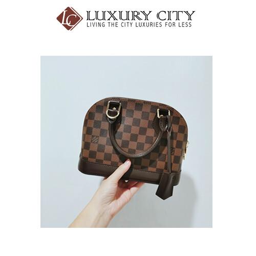 [Luxury City] Preloved Louis Vuitton Alma BB Damier 棋盘格款配件钥匙