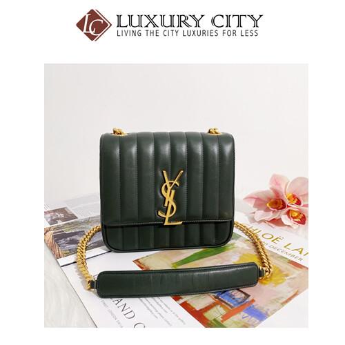 [Luxury City] Preloved Yves Saint Laurent Vicky Wallet Sling Bag