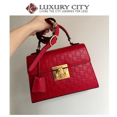 [Luxury City] Preloved Gucci Padlock Bag
