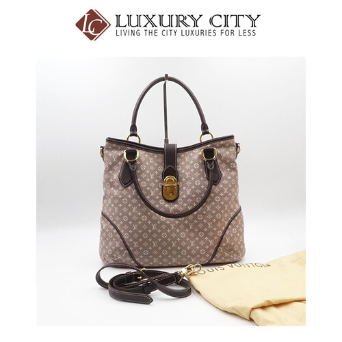 [Luxury City] Used LV Denim 2 Ways Carry Bag