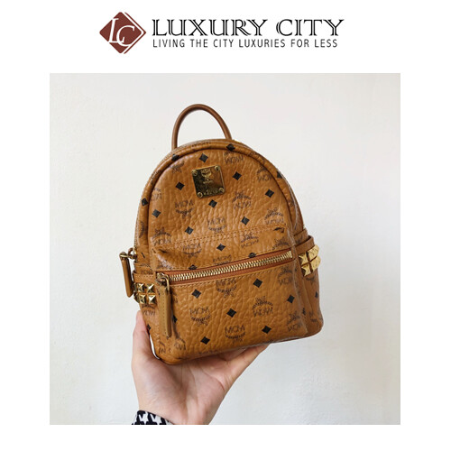 [Luxury City] Preloved MCM Super Mini Bag