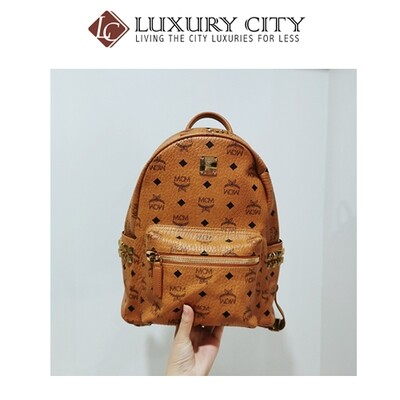 [Luxury City] Used MCM Backpack Small Size