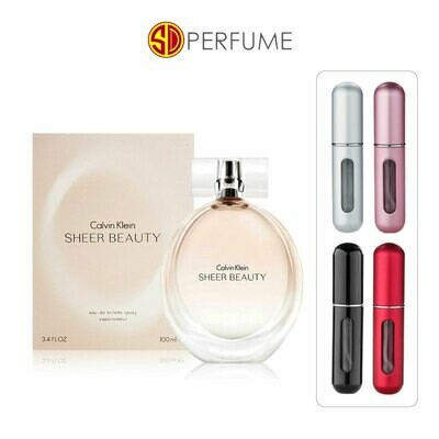 Calvin Klein cK Sheer Beauty EDP Lady 5ml Refill