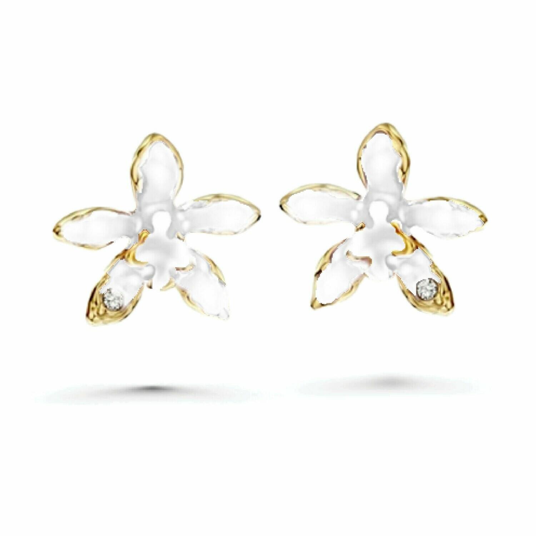 LUSH Cattleya Orchid Earrings