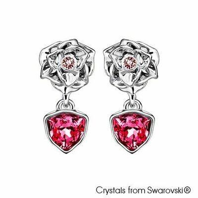 LUSH Trilliant Rose Earrings