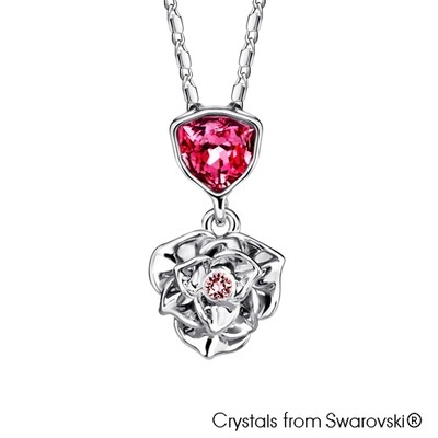 LUSH Trilliant Rose Necklace
