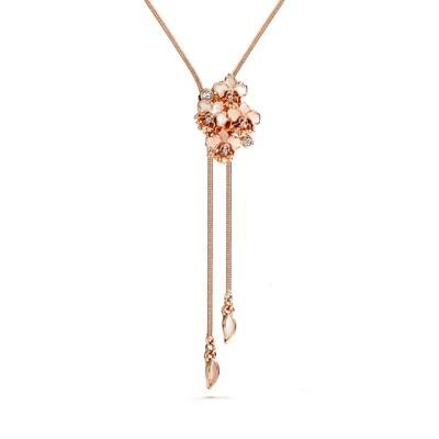 LUSH Mini Orchid Slider Necklace