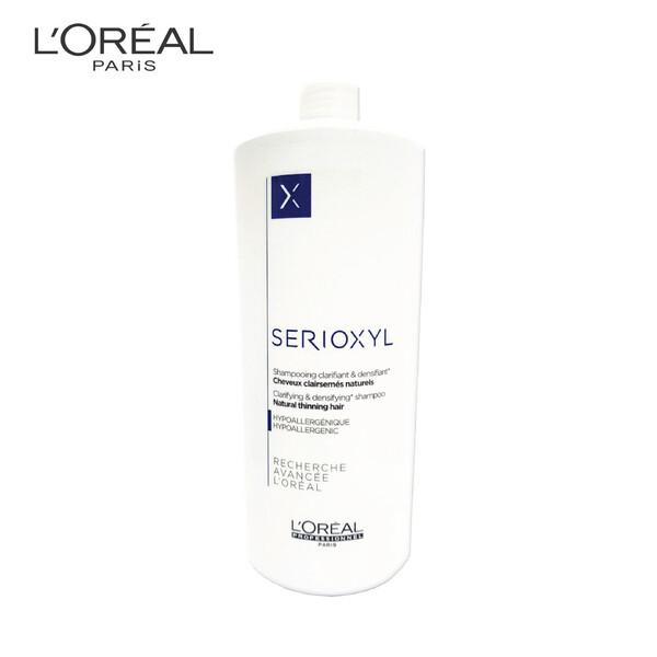 LOREAL Serioxyl Thinning Hair Shampoo 1000ml For Natural Hair