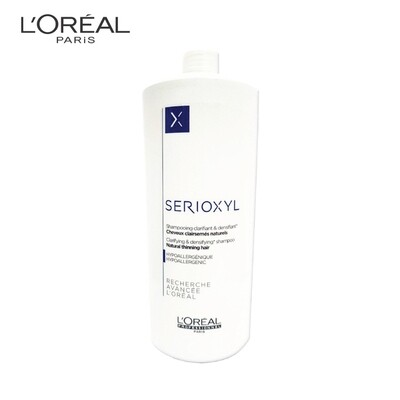 LOREAL Serioxyl Thinning Hair Shampoo 1000ml For Natural Hair