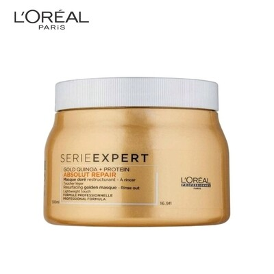 Loreal Professionnel Serie Expert Absolut Repair Gold Quinoa Protein Instant Resurfacing Masque 500ml