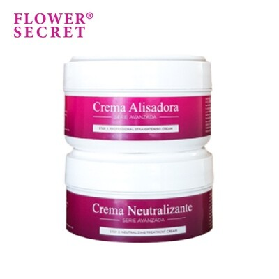 Flower Secret Strong Straightening Cream with Neutralizer (2x150ML)