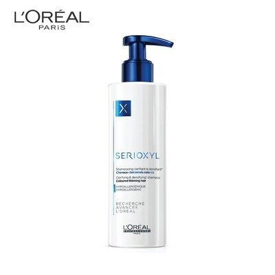 LOREAL Serioxyl Thinning Hair Shampoo 250ml For Coloured Hair
