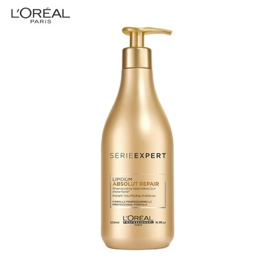Loreal Professional Absolut Repair Lipidium Instant Resurfacing Shampoo 500ml