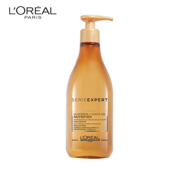 Loreal Professionnel Serie Expert Nutrifier Glycero Coco Oil Shampoo 500ml