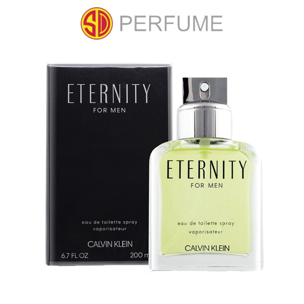Calvin Klein cK Eternity EDT Men 200ml (BIGGEST SIZE)