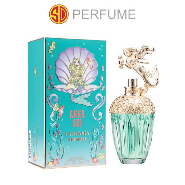 Anna Sui Fantasia Mermaid EDT Lady 75ml  (By: SD PERFUME)