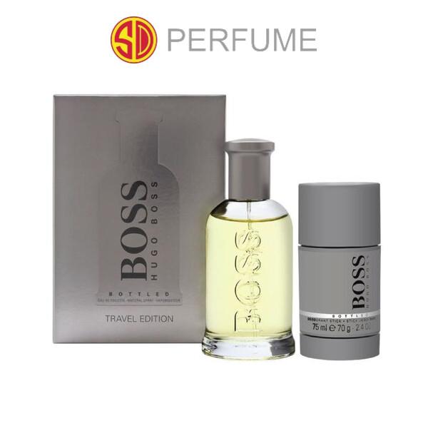 Hugo Boss Bottled No.6 100ml Travel Gift Set