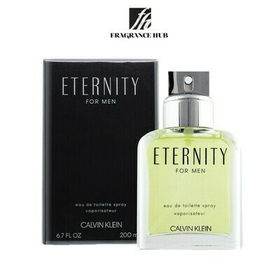 Calvin Klein cK Eternity EDT Men 200ml (By: Fragrance HUB)