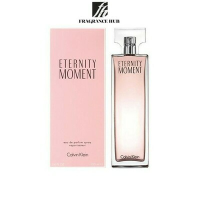 Calvin Klein cK Eternity Moment EDP Women 100ml (By: Fragrance HUB)