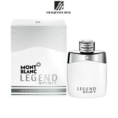 Mont Blanc Legend Spirit White EDT Men 100ml (By: Fragrance HUB)