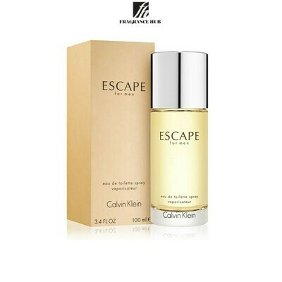 Calvin Klein cK Escape EDT Men 100ml (By: Fragrance HUB)