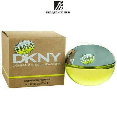 DKNY Be Delicious Green Apple EDP Women 100ml (By: Fragrance HUB)